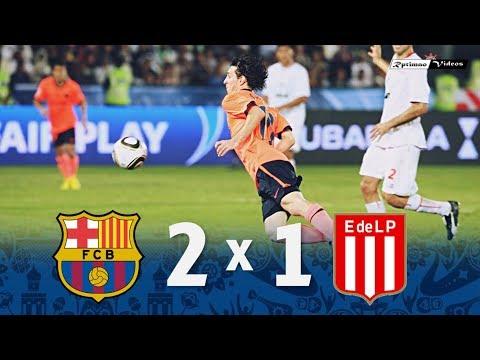 Barcelona 2 x 1 Estudiantes de La Plata ● 2009 FIFA Club World Cup Final Goals & Highlights HD