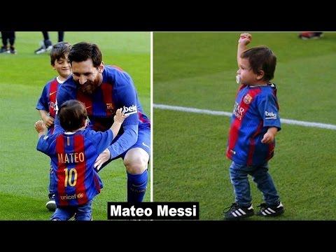 """Lionel Messi's [FC Barcelona] Son """"Mateo Messi"""" (2017)"""