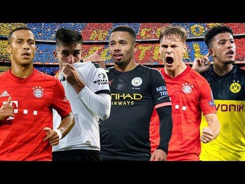 Ranking Barcelona Transfer Targets ft Sancho, Thiago, Kimmich, Jesus & More