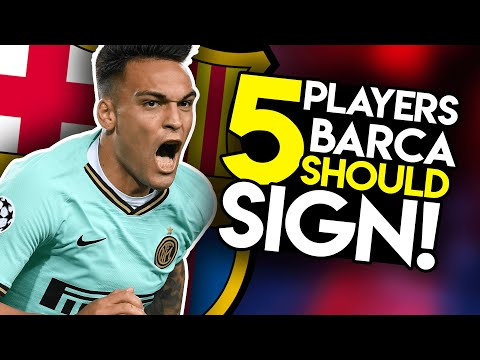 ONE Striker, TWO Centre-backs & TWO Midfielders! – Barcelona Transfer News & Targets (2019/20)