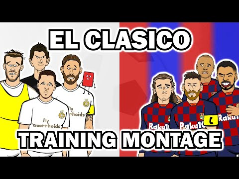 El Clasico – Training Montage 2020 (Real Madrid vs Barcelona Preview)