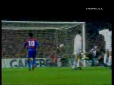barcelona vs real madrid 5-0 highlights soccer best game classic great goals romario stoichkov