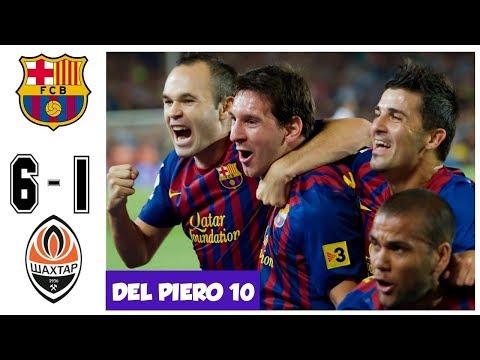 Barcelona vs Shaktar Donetsk 6-1 – Quarter Final UCL 2011 – All Goals and Highlights