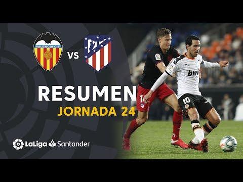 Resumen de Valencia CF vs Atlético de Madrid (2-2)