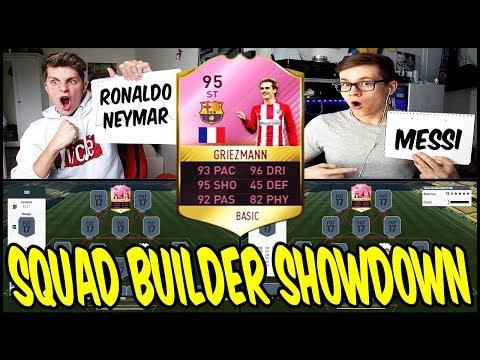 GRIEZMANN BARCELONA TRANSFER PREDICTION SQUAD BUILDER SHOWDOWN ⚽🔥 – FIFA 17 ULTIMATE TEAM (DEUTSCH)