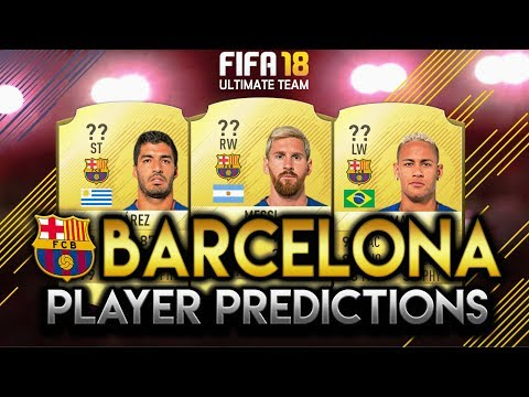 FIFA 18 | BARCELONA PLAYER RATING PREDICTIONS! | W/MESSI, NEYMAR AND SUAREZ!