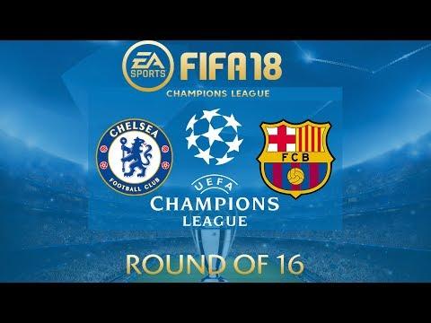 FIFA 18 Chelsea vs Barcelona | Champions League 2017/18 | PS4 Full Match