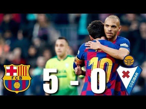 Barcelona vs Eibar [5-0], La Liga, 2020 – MATCH REVIEW