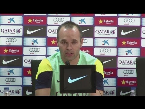 Iniesta: 'My wish is to finish my career at Barcelona'