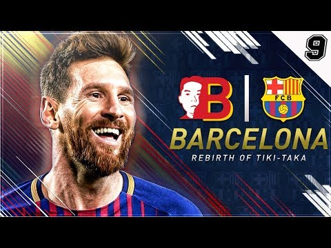 """""""WE ALMOST LOST MESSI CUZ IM STUPID!""""  FIFA 18 Barcelona Career Mode EP 9"""