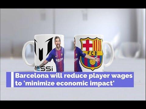 Coronavirus : Barcelona will reduce player wages to 'minimize economic impact'