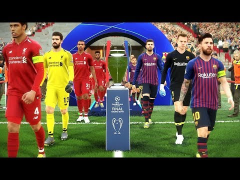 Barcelona vs Liverpool (Semi-final) UEFA Champions League 2019 Gameplay