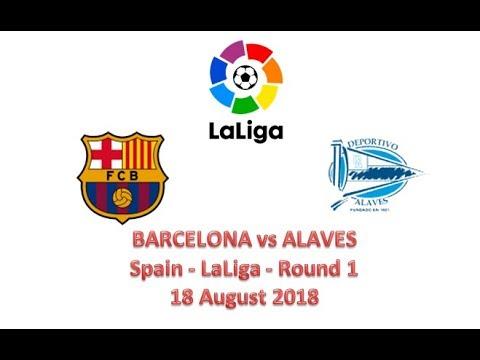 Barcelona vs Alaves | Spain – Laliga – Round 1 | Live Score | 18 August 2018 | Dr Zakir Naik
