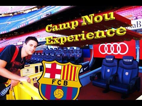 ¡CAMP NOU! El tour del estadio del FC Barcelona – ESPAÑA / Pelirroja Mexicana Mochilera VLOG #7