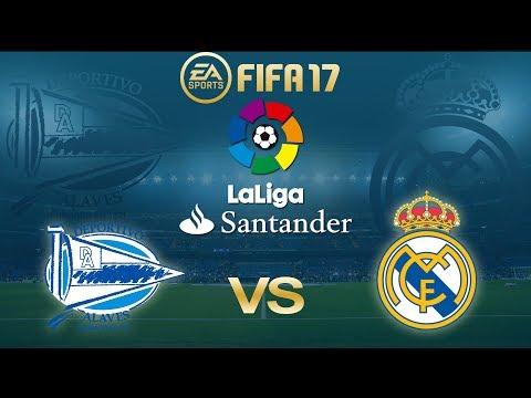 FIFA 17 Alaves vs Real Madrid | La Liga 2017/18 | PS4 Full Match