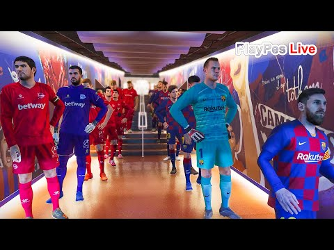 PES 2020 – Barcelona vs Alaves – Full Match & Goals – Gameplay PC