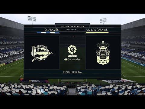 FIFA 18 | Alaves vs UD Las Palmas | La Liga Santander 2017/18 | Full Match Gameplay PS4