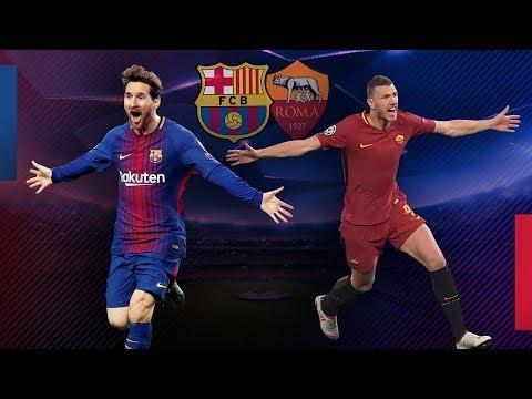 Live Barcelona vs AS Roma 1:45AM, 5 April 2018