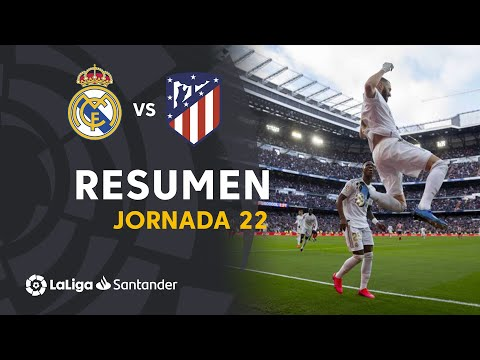 Resumen de Real Madrid vs Atlético de Madrid (1-0)