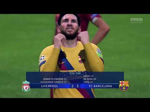 FC Barcelona VS LIVERPOOL UEFA Champions League FINAL FIFA 2020
