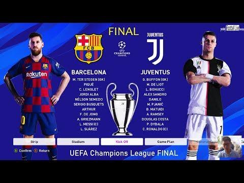 PES 2020 | Final UEFA Champions League – UCL | Barcelona vs Juventus