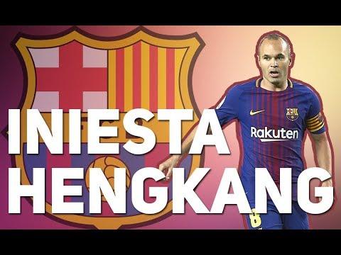 BREAKING NEWS – Andres Iniesta akan Hengkang dari Barcelona pada Akhir Musim Ini