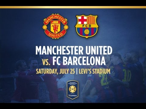Manchester United 3 – 1 Barcelona PRE Season tour – Match thoughts!