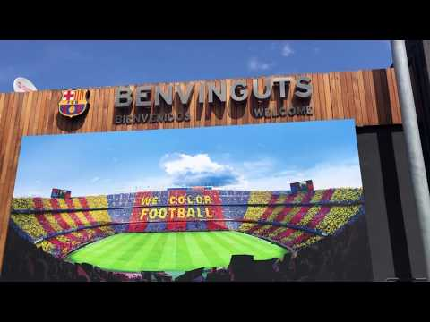 Europe Trip 2019 – Spain –  FC Barcelona Tour