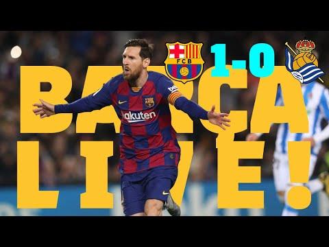 ⚽Barça 1 – 0 Real Sociedad | BARÇA LIVE: Warm Up & Match Center #BarcaRealSociedad