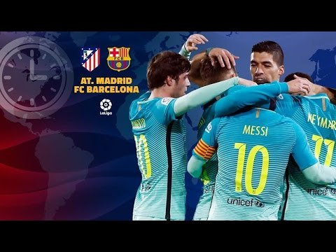 Atletico Madrid vs Barcelona En Vivo Audio La Liga