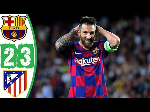 Barcelona vs Atletico Madrid 2-3 I Highlights & Goals Resumen & Goles 2020 | Semifinales Supercopa