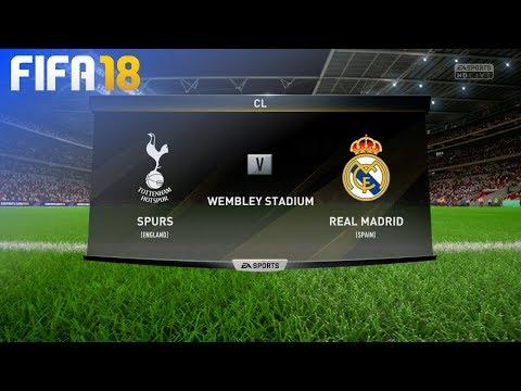 FIFA 18 – Tottenham Hotspur vs. Real Madrid @ Wembley Stadium