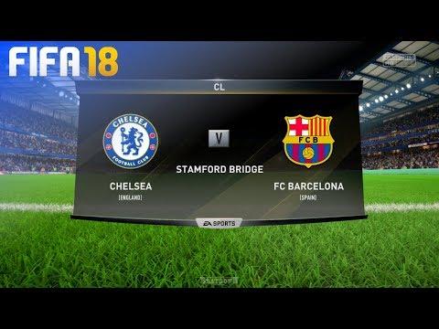FIFA 18 – Chelsea vs. FC Barcelona @ Stamford Bridge