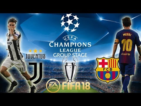FIFA 18 Juventus vs Barcelona | Champions League Group Stage 2017/18 | PS4 Full Match