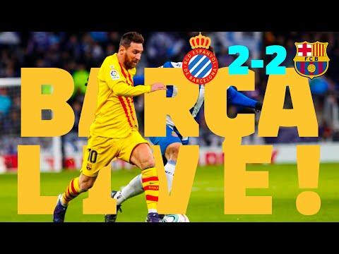 ⚽ Espanyol 2 – 2 Barça | BARÇA LIVE: Warm Up & Match Center #EspanyolBarça