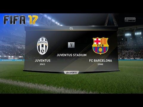 FIFA 17 – Juventus vs. FC Barcelona @ Juventus Stadium