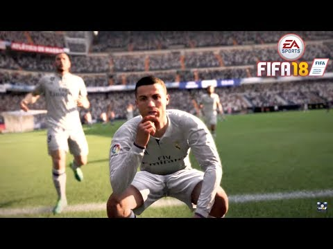 FIFA 18: CRISTIANO RONALDO GOALS & SKILLS | NEW CELEBRATIONS | Trailer Montage – Pirelli7 HD