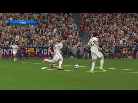 PES 2014 Gameplay Fc Barcelona Vs Real Madrid