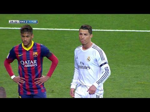 Cristiano Ronaldo Vs FC Barcelona Home HD 720p (23/03/2014)