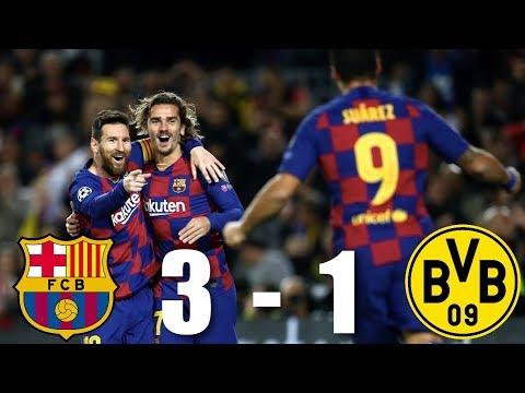 Barcelona vs Borussia Dortmund [3-1], Champions League, Group Stage 2019/20 – MATCH REVIEW