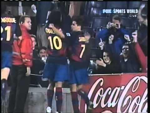 2003 October 15 Barcelona Spain 8 Matador Puchov Slovakia 0 UEFA Cup