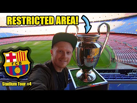 FC BARCELONA STADIUM TOUR! Camp Nou, The ULTIMATE Stadium Tour!