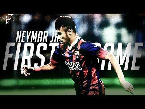 Neymar Jr's First Ever Game for FC Barcelona! | 4K