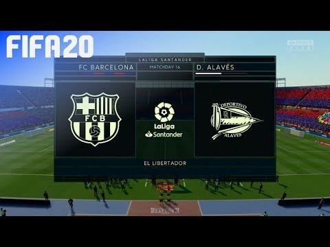 FIFA 20 – FC Barcelona vs. Deportivo Alavés @ El Libertador