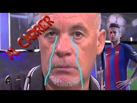 AL CARRER!!! FC Barcelona 6 – 1 PSG // Remontada histórica
