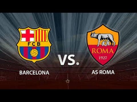 UEFA Champions League BARCELONA vs ROMA I GOLES Y MEJORES JUGADAS I PS4 I HD I