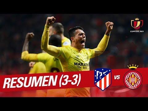 Resumen Atlético de Madrid vs Girona FC (3-3)