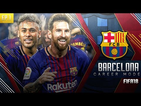 FIFA 18 Barcelona Career Mode – EP1 – Neymar Returns To Barcelona!! Record Breaking £200m Signing!!