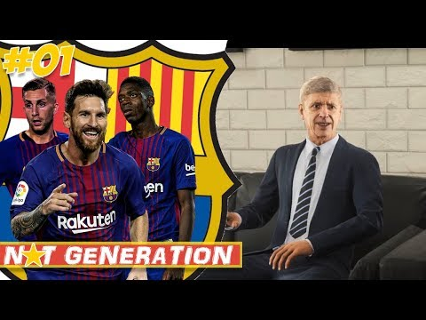 DIE NEUEN SUPERSTARS | NXT GENERATION FC Barcelona FIFA 18 Karrieremodus #01