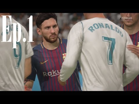FIFA 18 – Career Mode on Legendary – FC Barcelona | Ep.1